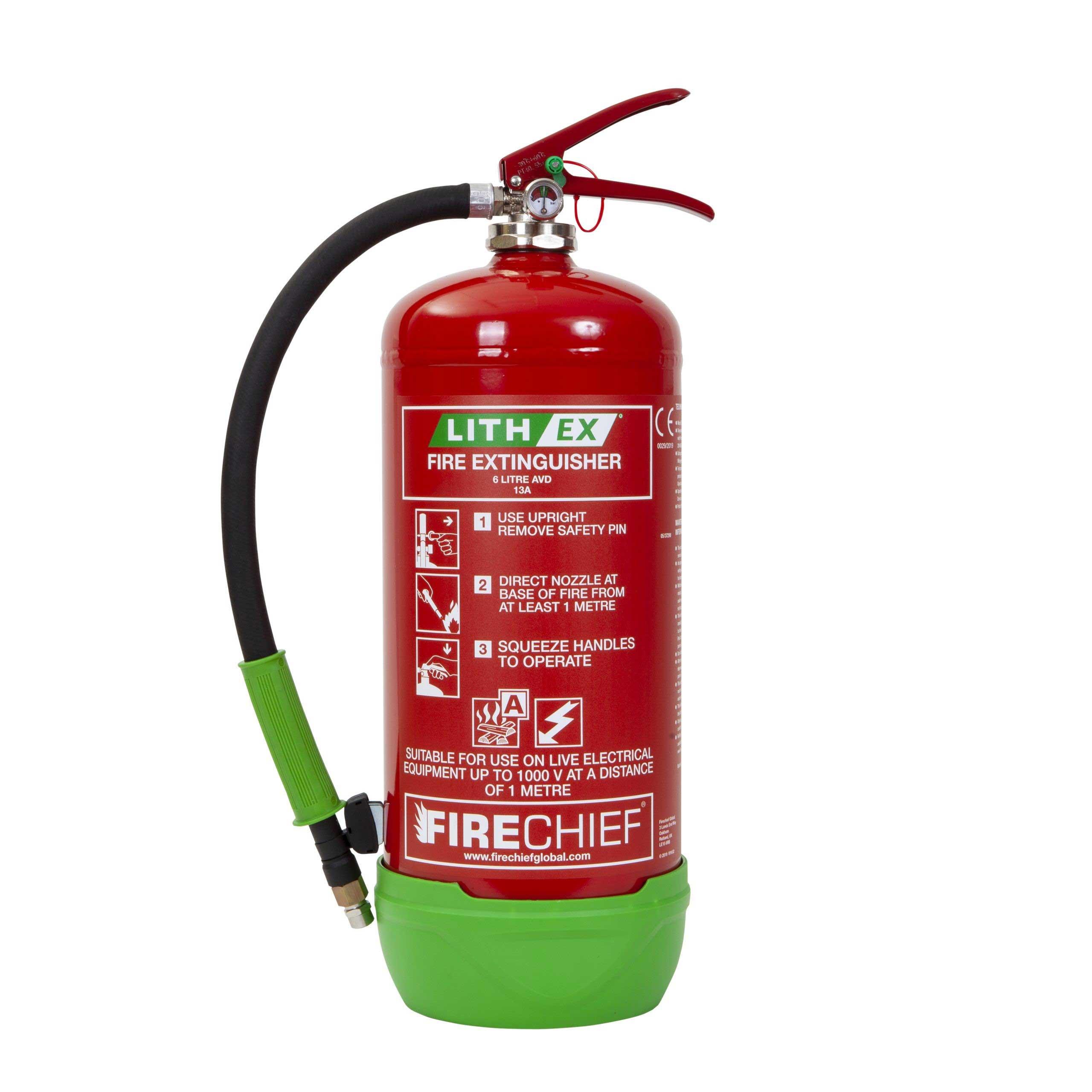 Lithium Fire Extinguisher
